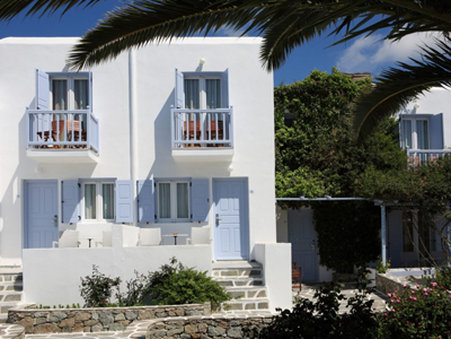 Aeolos Hotel Mykonos - Room Exterior