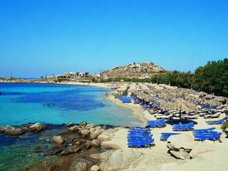 Aeolos Hotel Mykonos - Beach
