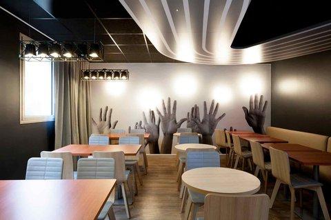 Hotel Paris Massena Olympiades (ibis styles en septembre 2014) - Restaurant