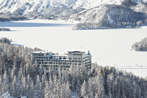 Hotel Waldhaus - Exterior In The Winter