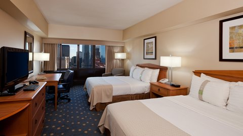 Holiday Inn Chicago Mart Plaza Hotel - Double Bed Guest Room with Skyline View