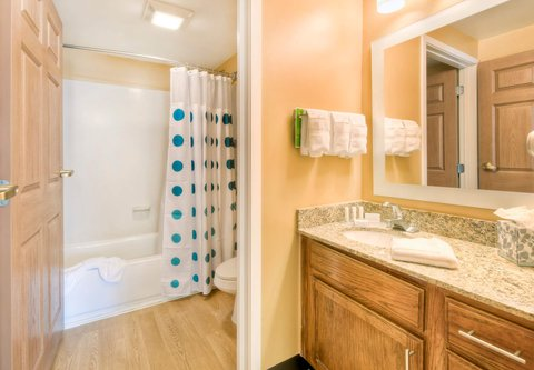 TownePlace Suites Charlotte University Research Park - Two-Bedroom Suite - Bathroom