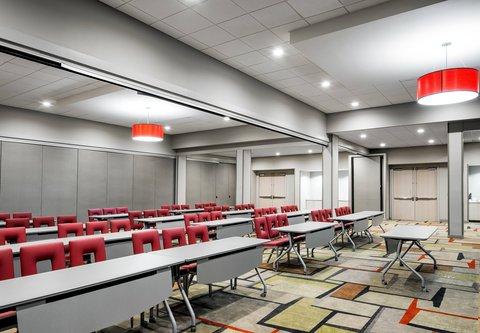 Fairfield Inn & Suites Charlotte Uptown - Carolina Gallery A - Classroom Setup