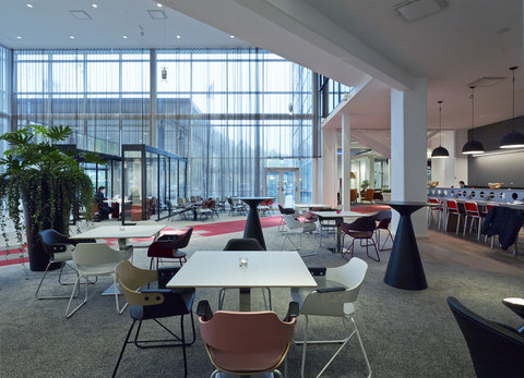 Gothia Towers - Lobby at Gothia Towers in Gothenburg