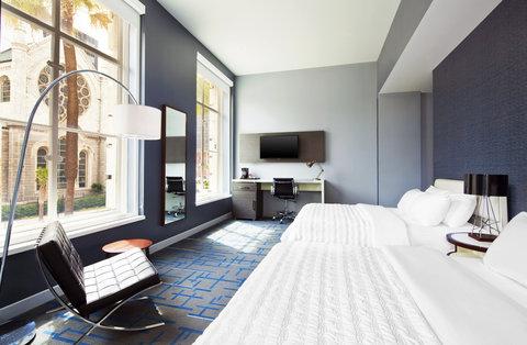 Le Meridien Tampa - Deluxe Double Queen Bedroom