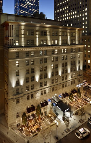 The Back Bay Hotel - Aerial Exterior