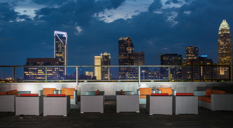 Charlotte Center City Hotel - Exterior Rooftop