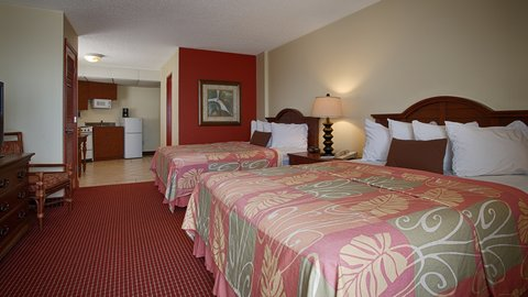 BEST WESTERN Aku Tiki Inn - Two Queen Bedroom with Kitchenette