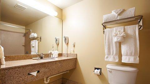 BEST WESTERN Fort Lauderdale Airport/Cruise Port - Guest Bathroom