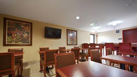 BEST WESTERN Fort Lauderdale Airport/Cruise Port - Breakfast Seating