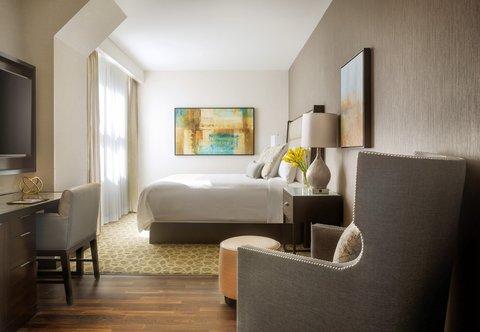 JW Marriott Houston Downtown - Poet King Guest Room