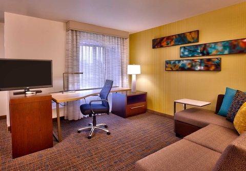 Residence Inn Salt Lake City Murray - Studio Suite   Living Area