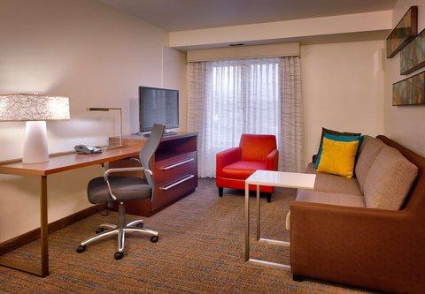 Residence Inn Salt Lake City Murray - One-Bedroom King Suite   Living Area
