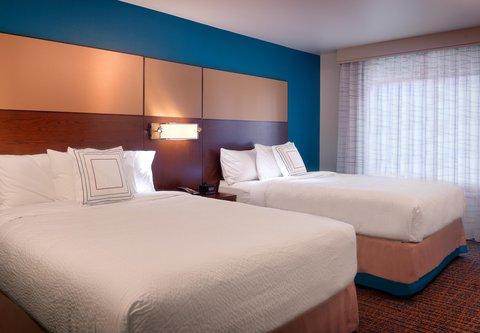 Residence Inn Salt Lake City Murray - One-Bedroom Queen Queen Suite - Bedroom