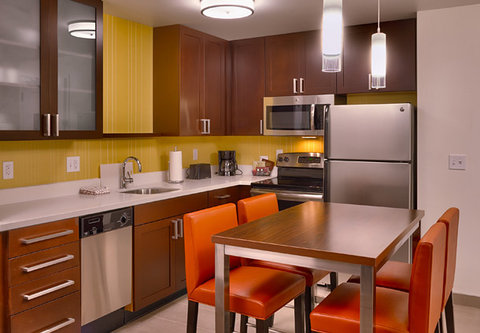Residence Inn Salt Lake City Murray - Two-Bedroom Suite   Kitchen   Dining Area