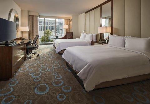 Marriott Marquis Washington, DC - Double Double Guest Room   City View