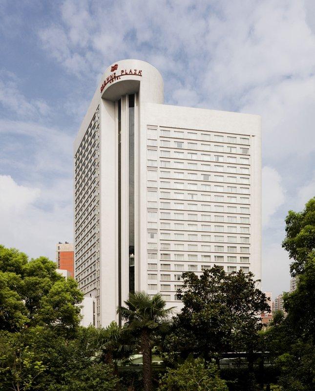 Crowne Plaza Hotel Shanghai Kilátás a szabadba