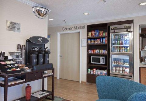 Fairfield Inn Bozeman - Corner Market   Coffee Station