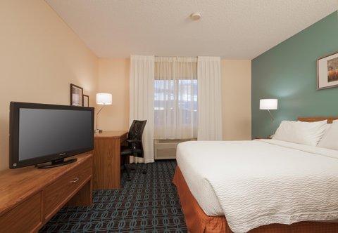 Fairfield Inn Bozeman - Queen Guest Room   Sleeping Area