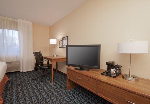 Fairfield Inn Bozeman - Guest Room Amenities