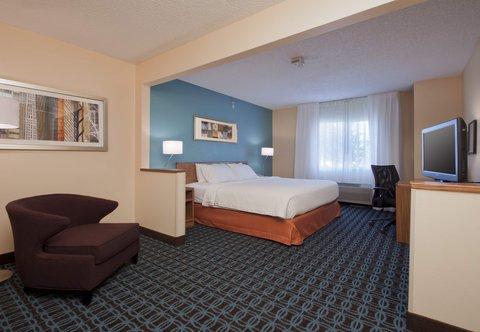 Fairfield Inn Bozeman - Accessible Executive King Guest Room