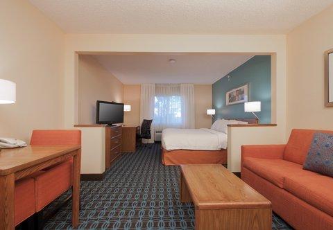 Fairfield Inn Bozeman - Executive King Guest Room