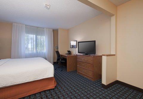 Fairfield Inn Bozeman - Accessible Executive King Guest Room - Amenities