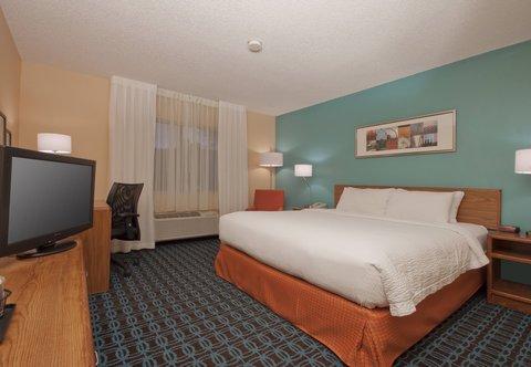 Fairfield Inn Bozeman - King Guest Room
