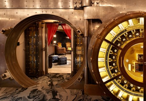 Metropolitan at The 9, Autograph Collection - Vault   Seating Area
