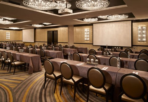 Metropolitan at The 9, Autograph Collection - The Mint Ballroom   Classroom Setup