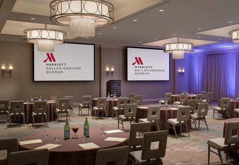 Marriott Dallas Addison Quorum Galleria BallRoom
