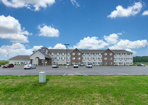 Comfort Inn & Suites Fort Madison Fasad