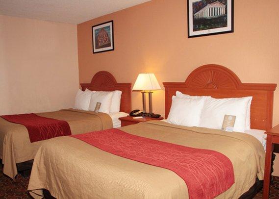 Comfort Inn Nashville Vista della camera