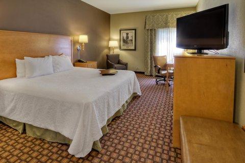 Hampton Inn - Suites Nashville-Vanderbilt-Elliston Place - King Hearing Accessible Room