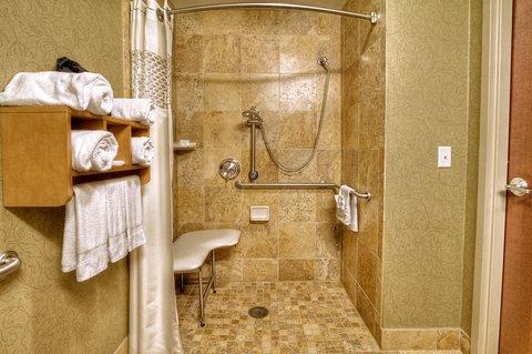 Hampton Inn - Suites Nashville-Vanderbilt-Elliston Place - King Hearing Accessible Bathroom