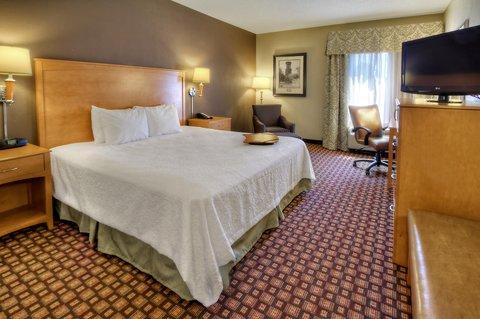 Hampton Inn - Suites Nashville-Vanderbilt-Elliston Place - King Mobility Hearing Accessible Room