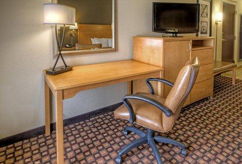 Hampton Inn - Suites Nashville-Vanderbilt-Elliston Place - King Mobility Hearing Accessible Room Desk