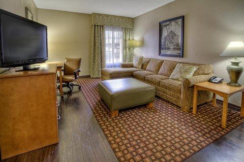 Hampton Inn - Suites Nashville-Vanderbilt-Elliston Place - King Accessible Suite