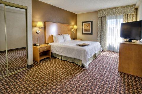 Hampton Inn - Suites Nashville-Vanderbilt-Elliston Place - King Accessible Suite Bedroom