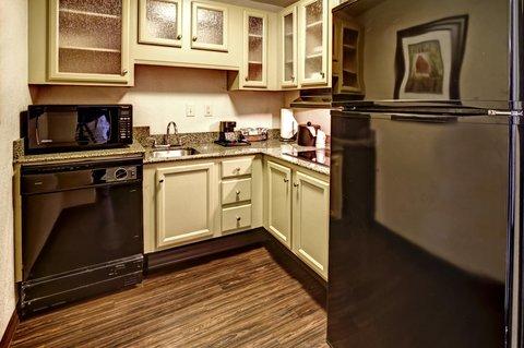 Hampton Inn - Suites Nashville-Vanderbilt-Elliston Place - King Accessible Suite Kitchenette