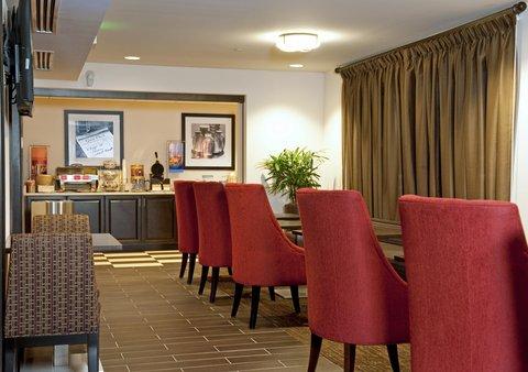Hampton Inn - Suites Nashville-Vanderbilt-Elliston Place - Comfortable Breakfast Area