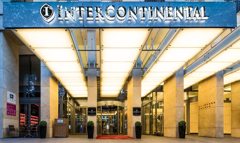 InterContinental Düsseldorf Set udefra