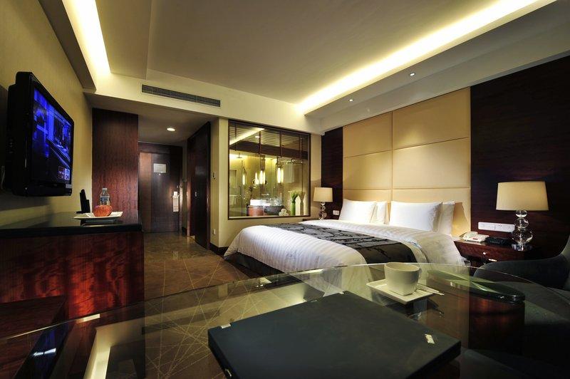 Crowne Plaza Hotel International Airport Beijing Vista de la habitación
