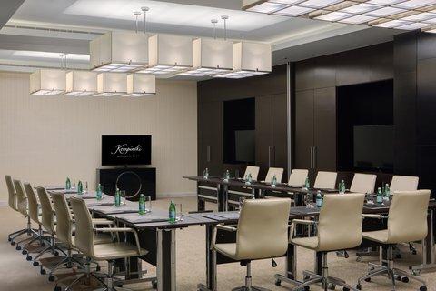 Kempinski Burj Rafal Hotel - Burj Rafal Hotel Kempinski Ajwa Meeting Room