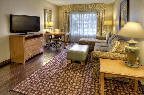 Hampton Inn - Suites Nashville-Vanderbilt-Elliston Place - King Suite