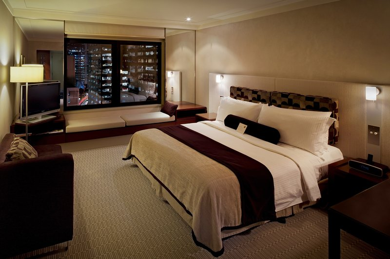 Intercontinental Sydney 客房视图