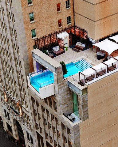 The Joule Dallas Preferred Hotels and Resorts - The Joule Hotel Aerial