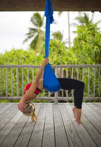 Six Senses Laamu - Aerial Yoga