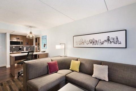 HYATT house Charlotte Airport - One-Bedroom Double Suite