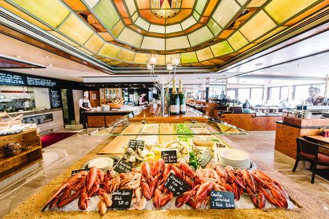 غراند إيليسي هامبورغ - Restaurant Brasserie Flum at GRAND ELYSEE HAMBURG